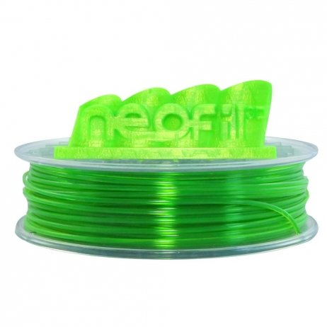 PET-G Vert transparent 1.75mm Neofil3D