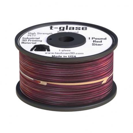 PET Taulman 3D T-Glase Rouge 1.75mm