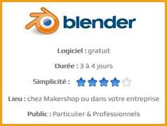 Blender - Formation Makershop à la modélisation 3D