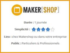 Formation Makershop à l'impression 3D