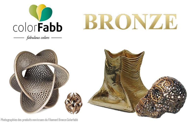 Impression 3D métal un avant goût avec ColorFabb Bronze !