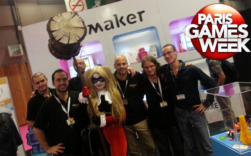 Makershop à la Paris Games Week 2014