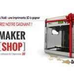L'heureux gagnant de l'imprimante 3D Da Vinci est…