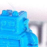 Surplombs & Porte à fauxLa partie basse des surplombs du modèle ne s'imprime pas proprement.