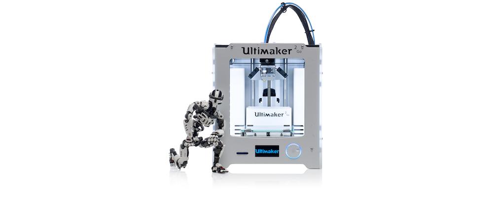 Imprimante 3D Ultimaker 2GO - Makershop