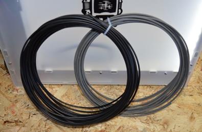 Présentation des filaments métalliques Acier inoxydable et conducteur
