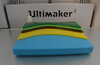 Impression 3D multicolore avec une Ultimaker 2 (mono-buse)