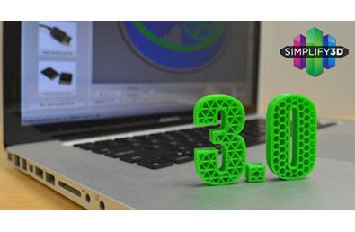 Simplify3D lance sa version 3.0