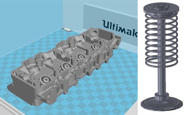 Un moteur imprim en 3d totalement fonctionnel makershop - Soupape de decompression chambre froide ...
