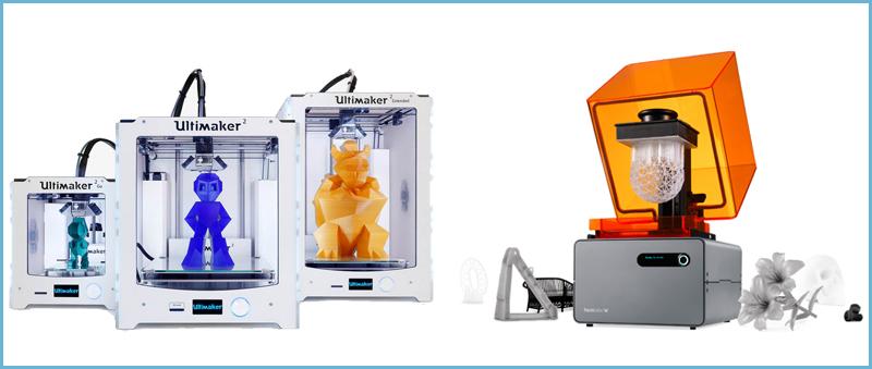 Imprimantes FDM et SLA