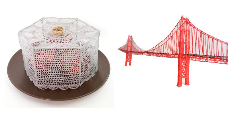 Couvercle pour aliments et le Golden Gate