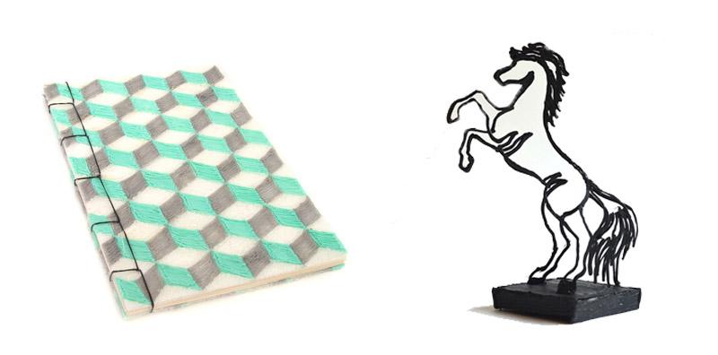 couverture de livre et cheval