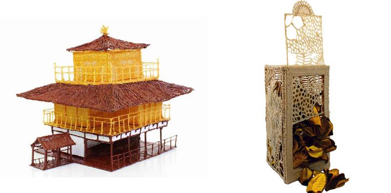 Temple et pot pourri