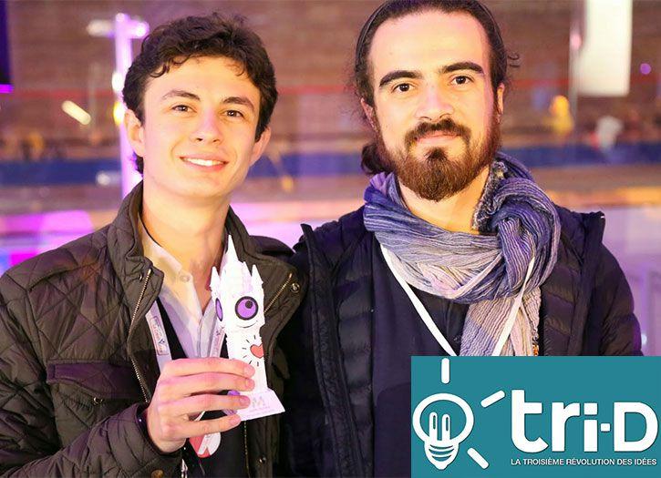 Projet impression 3D «Toucher pour voir» : Interview Tri-D