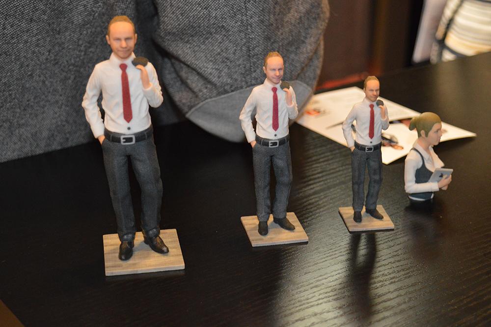 Figurines en 3D