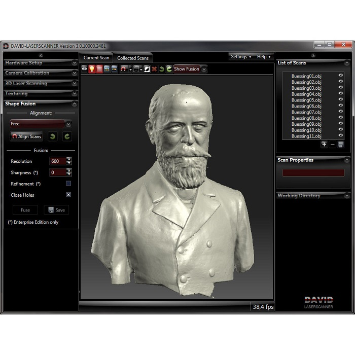 Scanners 3D particuliers
