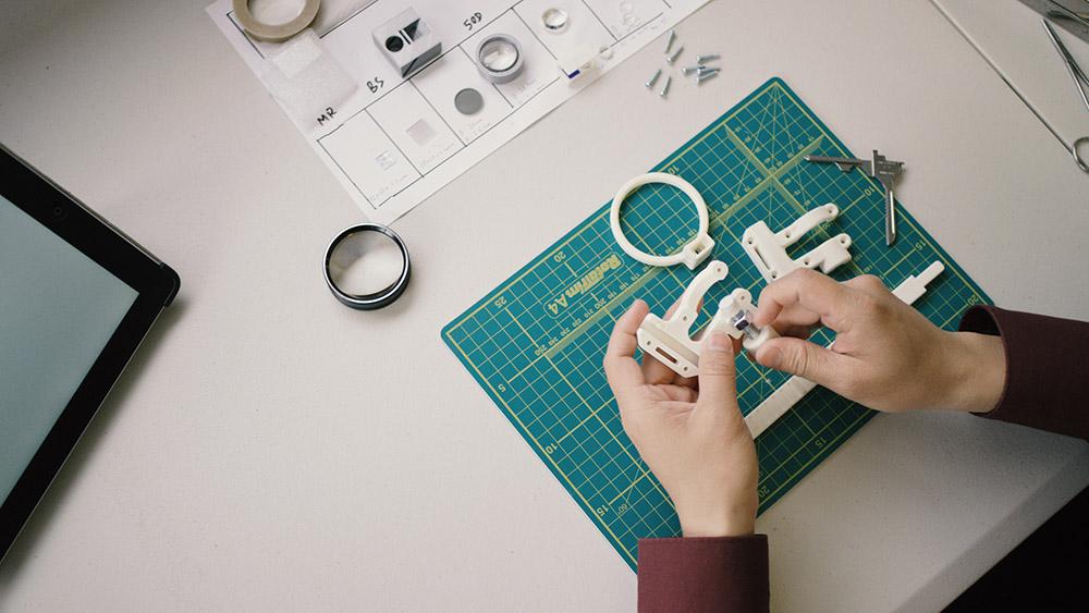 Piece 3D kit oculaire
