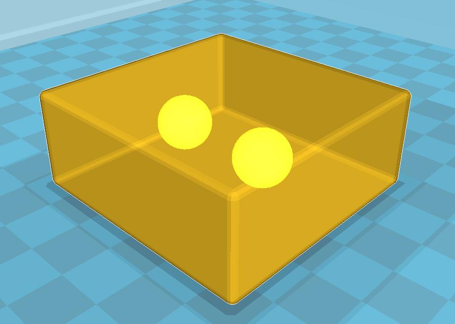 Cas spécifique en modélisation 3D pour l'impression 3D