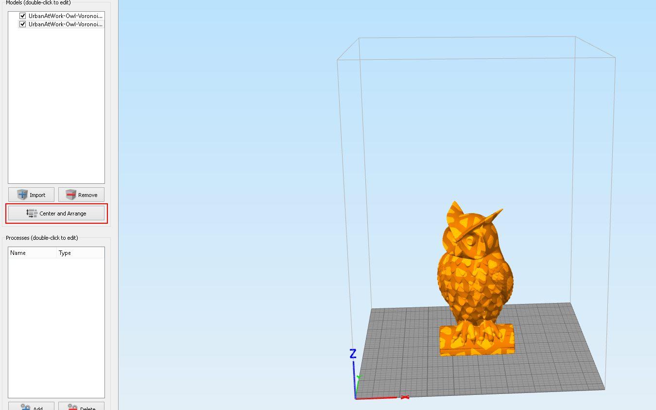 double extrusion jointée simplify3D