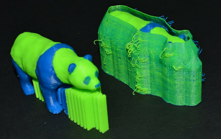 ooze shield double extrusion simplify3D
