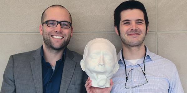 Impression 3D d'une prothèse de mâchoire grâce à la Form 2