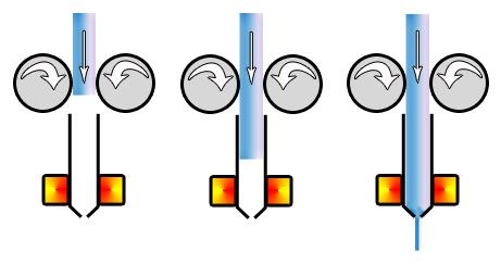 buse diamètres filament