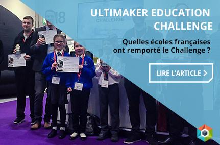 Ultimaker Education Challenge - Les gagnants !