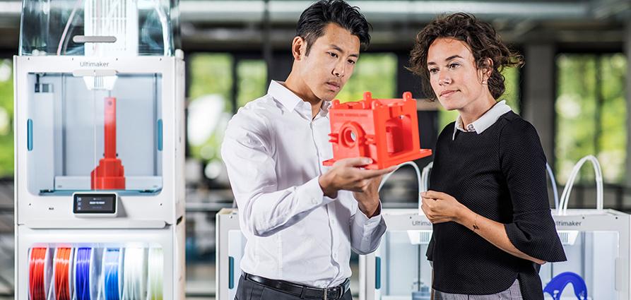Etude professionnels et impression 3D