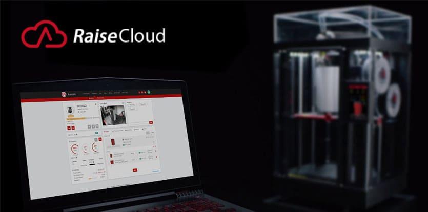 RaiseCloud – gestion d'impression 3D à distance