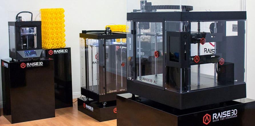 Imprimantes3D Série Pro2 de Raise3D
