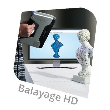 EinScan Pro mode balayage hd