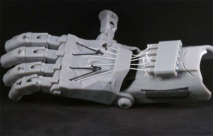 3d printed artificial hand