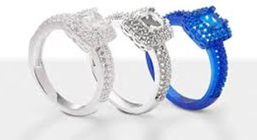 3D printer production jewellery