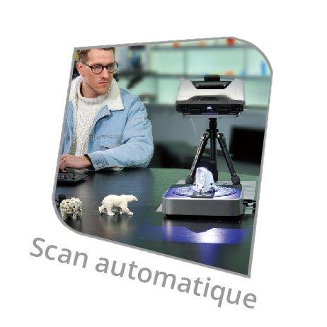 EinScan Pro mode automatique