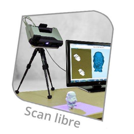 EinScan Pro scan libre