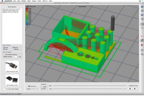 simplify 3d gcode visualisation