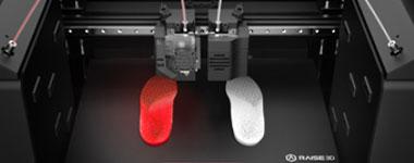 Technologie IDEX Raise 3D E2 pack éducation